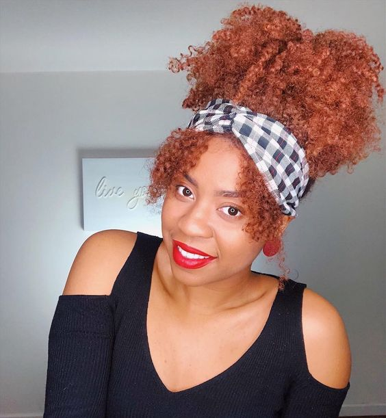 afro puff wigs for black women