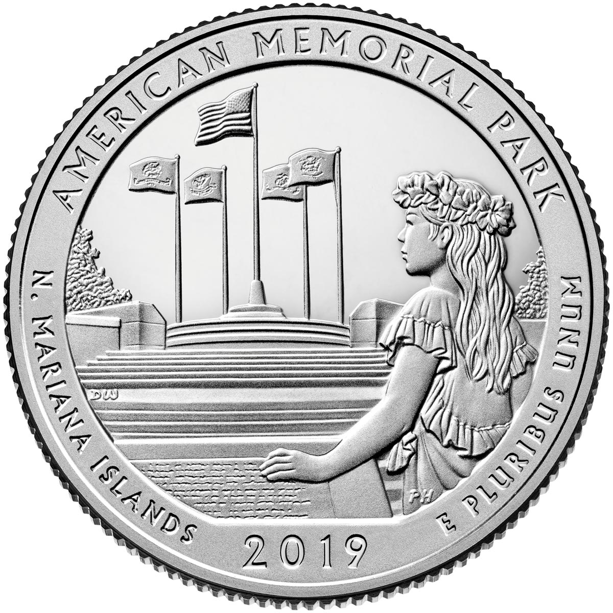 America The Beautiful Quarters The 25 Cents Coin Series From Usa