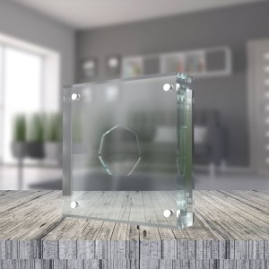 Perspex / Acrylic Coin Displays