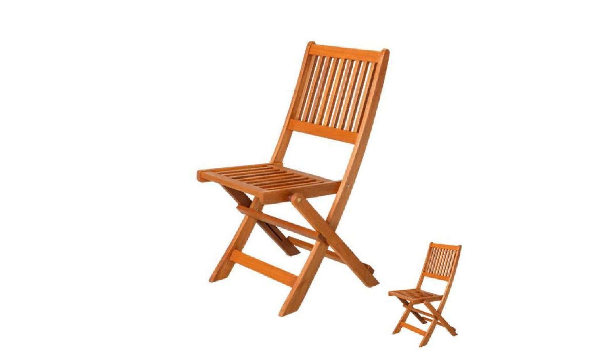 duo de chaises pliantes en bois moofushi l 46 x l 65 x h 87 achat vente fauteuil de jardin en teck pas cher coindujardin com