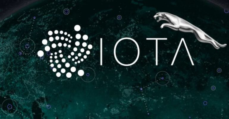 Jaguar Land Rover partners with IOTA