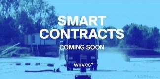 Waves lanza contratos inteligentes