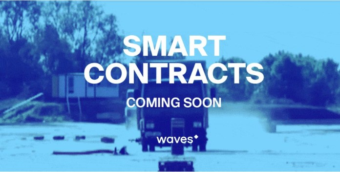 Waves lanza contratos inteligentes