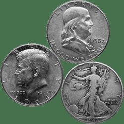90% Silver Coins Selection