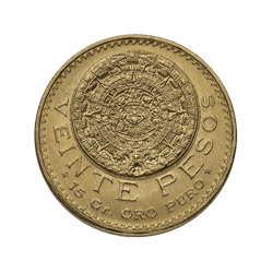 20 Peso Mexican Gold Coins