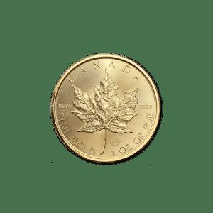 1/10 oz Canadian Gold Maple Leaf