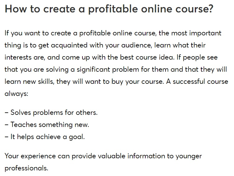 How To Create Online Courses and Coaching For Students
