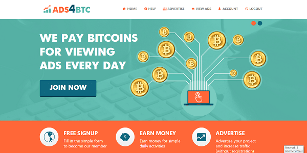 paid-to-click that pays you in bitcoins