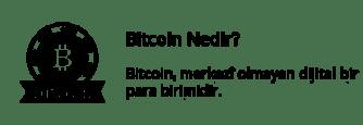 Bitcoin Nedir? - Bitcoin, merkezî olmayan dijital bir para birimidir.