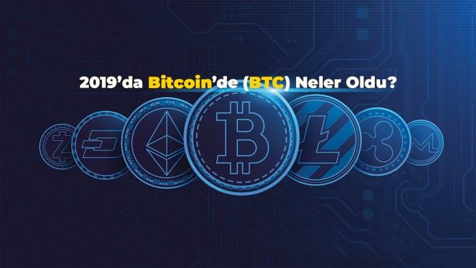 2019'da Bitcoin'de (BTC) Neler Oldu? (İnfografik)