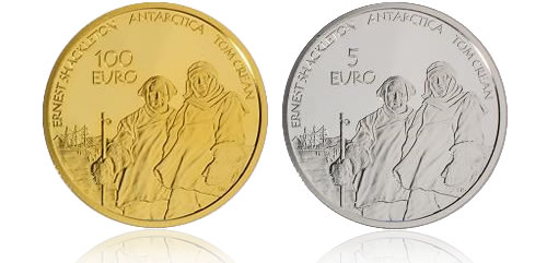 Ireland Antarctic Explorers Coins
