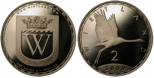 Wirtland Introduces New Quot Silver Crane Quot Coin Coin News
