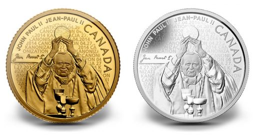 John Paul II Commemorative Coins in Gold and Silver