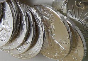 American Silver Eagles, bullion