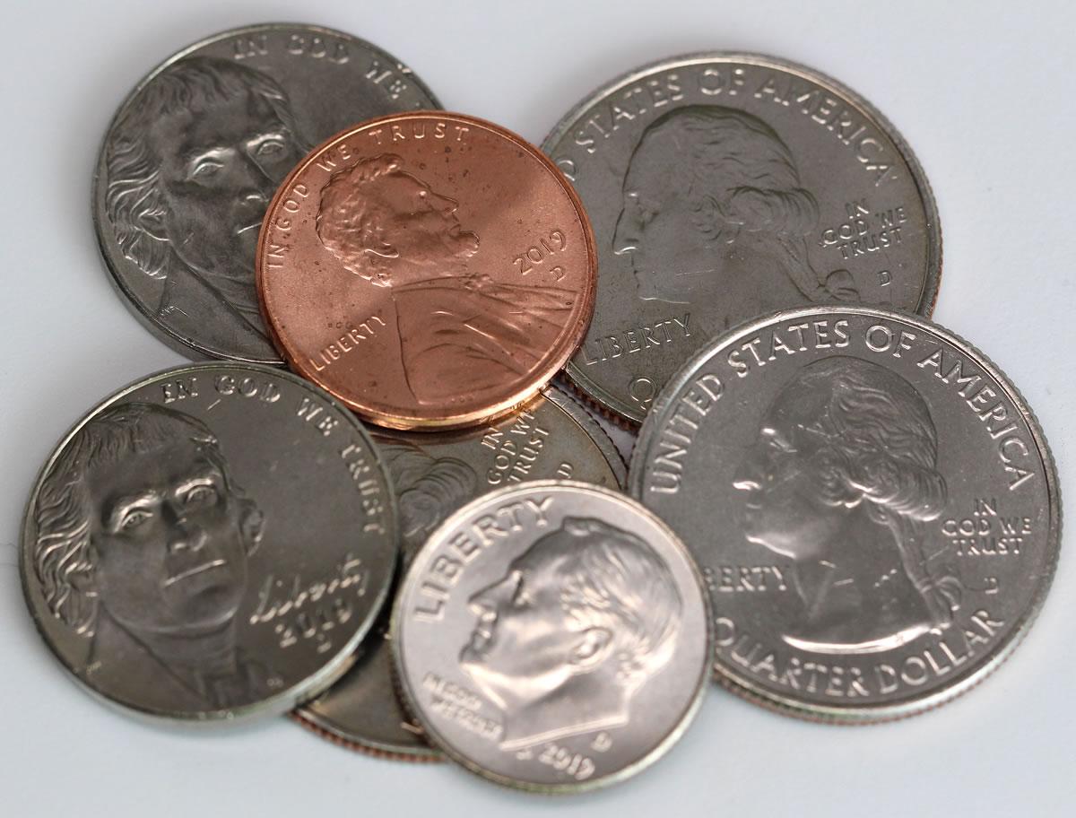 U S Coin Production Nears 900 Million In November