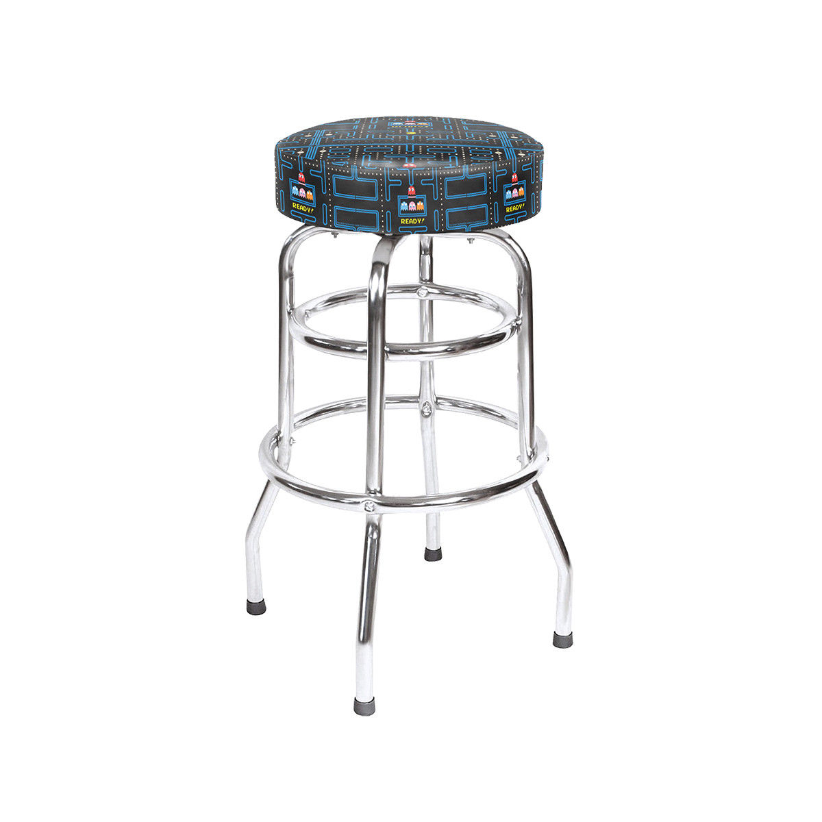 Namco Pac Man 30 High Bar Stool For Sale