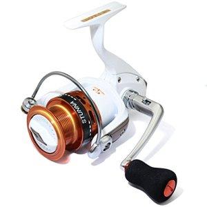 Cando (Tica de Sub-Brand Moulinet 4.5: 1,8rrb + 1rb-Left/Droite interchangeables léger Moulinet de pêche de Roue, Bobine en Alliage d'aluminium, S5000AA