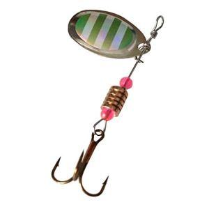 HATCHMATIC Leurres de pêche Manivelles Fly Main Sequin oon Wobbers de s oon Sequin Tackle avec s: 7