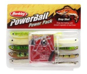 Berkley Powerbait Kit de pêche drop shot 10 pièces Assorti