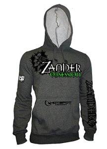 Hotspot Design Sweat à capuche Zander Obsession, gris, Sz. XL