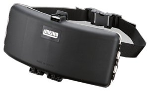 Meiho Waist Hunter Belt Type Tackle Box 335 x 175 x 85 mm Black (0614)