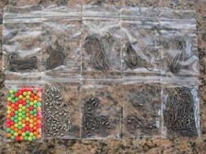 Generic Il Clips Hookset- rend Supports Supports Pivote à Mer matériel de pêche Perles réversible pour appât rend Clips Crochets Pêche en mer Tack