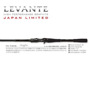 MEGABASS Levante Japan Ltd F5-72CG
