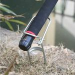 zhoumaoshunkeji Simple Foldable Fishing Rod Holder Bracket Fort (ZMSKJ)