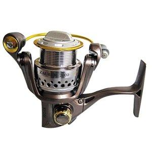 Cvbndfe Ryobi Bobine CNC Rocker Zhabo Plein Métal Type 2000 Roue Spinning Type Navire de Pêche