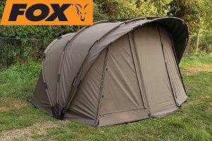 Fox Retreat + Ripstop 1-on Angel Tente + Tente intérieure pour la pêche, pêche à la carpe, pêcheur de Tente, 1Bonhomme de Tente, tente pour 1personne à nuit Pêche