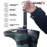 SAMSFX Sangle de Suspension avec Crochet en métal, Crochet en Alliage de Zinc.
