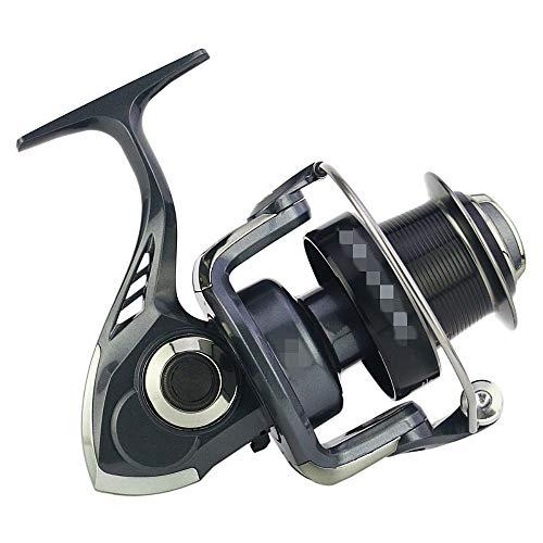WyaengHai Roue de pêche en mer 13+1BB Moulinet de pêche interchangeable gauche/droite Mer Moulinet Moulinet Moulinet Moulinet de pêche (couleur : noir, taille : MR6000)