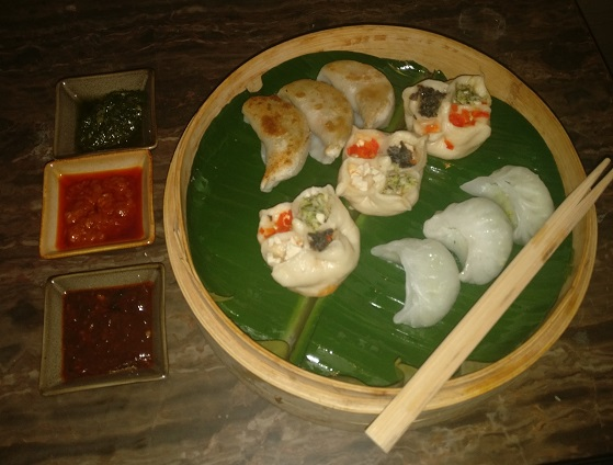 Dimsum Platter with dips