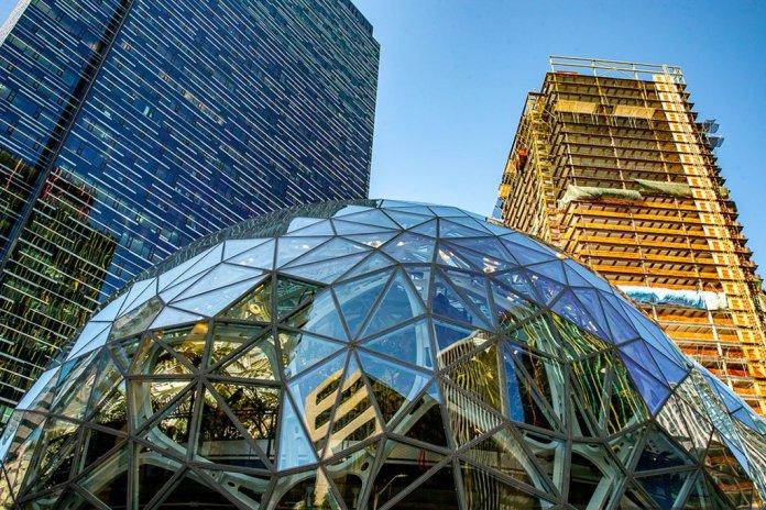 Amazon HQ, Seattle. Photo: Dave Sizer / Flickr