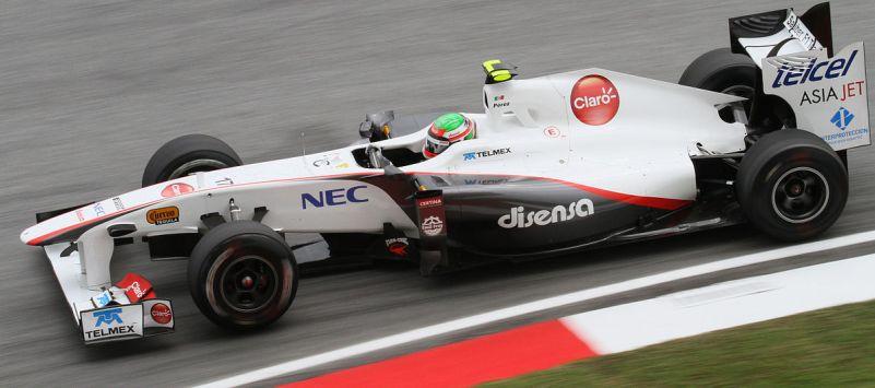 Sergio Perez in Malaysia