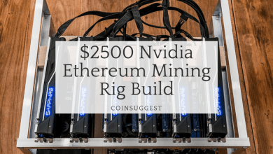 $2500 Nvidia Ethereum Mining Rig Build
