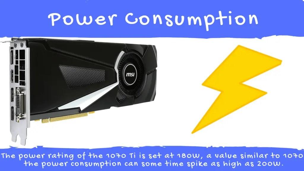 1070 Ti Power