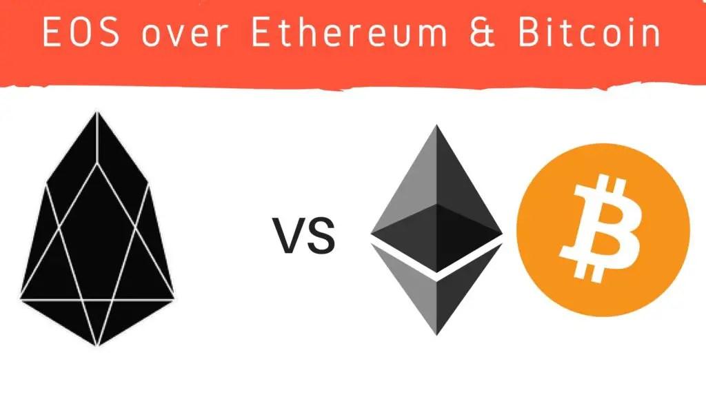 EOS vs ETH BTC