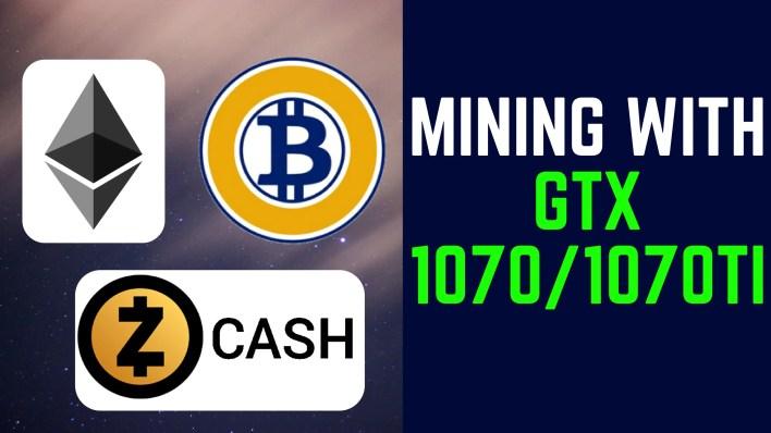 Mining with GTX 1070 Ti