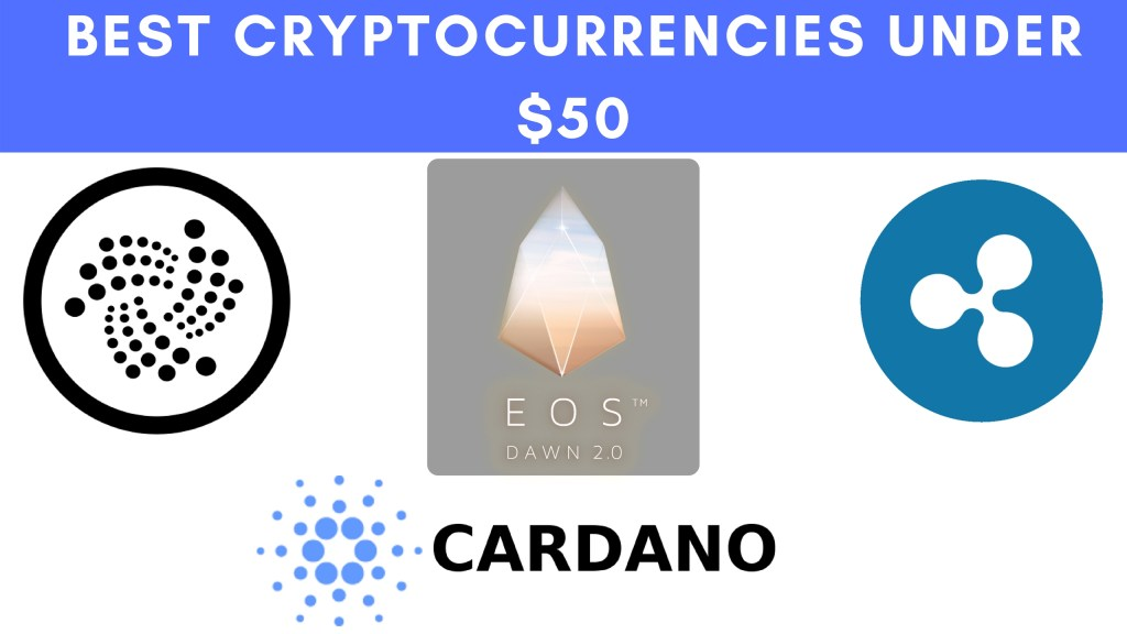 cryptocurrencies Under $50