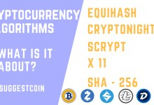 Cryptocurrency Algorithm