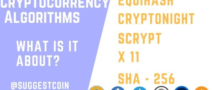 Cryptocurrency Algorithm
