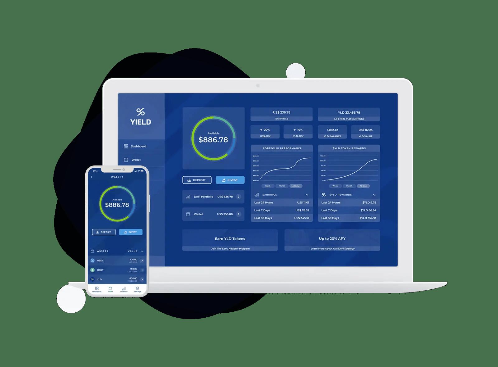 Yield App Defi