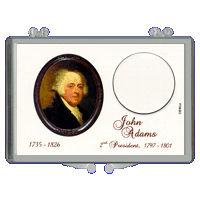 Marcus 2007 $1 J. Adams Coin Holder