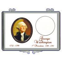 2X3 Presidential Dollars Holders