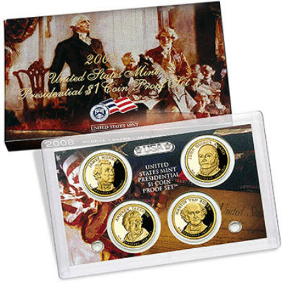 2008S 4-Piece Presidential Proof Set