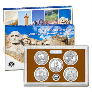 2013S 5-piece quarter Proof set