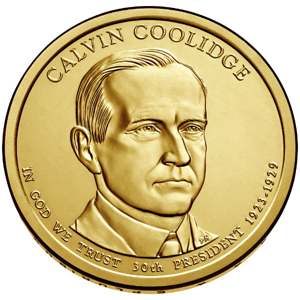 2014P $1 Coolidge 25-Coin Roll