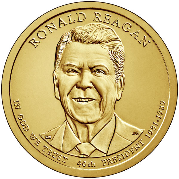 2016P $1 Reagan