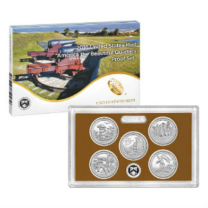 2016S 5-piece quarter Proof set